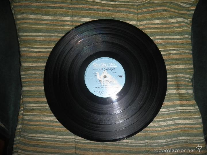 Discos de vinilo: WET WET WET - POPPED IN SOULED LP - ORIGINAL INGLES - PHONOGRAM RECORDS 1987 CON FUNDA INT. ORIGINAL - Foto 11 - 56572023