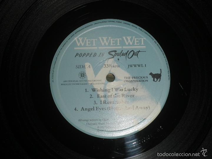 Discos de vinilo: WET WET WET - POPPED IN SOULED LP - ORIGINAL INGLES - PHONOGRAM RECORDS 1987 CON FUNDA INT. ORIGINAL - Foto 12 - 56572023