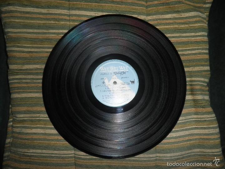 Discos de vinilo: WET WET WET - POPPED IN SOULED LP - ORIGINAL INGLES - PHONOGRAM RECORDS 1987 CON FUNDA INT. ORIGINAL - Foto 15 - 56572023