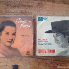 Discos de vinilo: LOTE 2 EP ESTRELLA ESTRELLITA DE PALMA. Lote 56572195