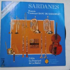 Discos de vinilo: LP. SARDANES. DISCOPHON. . Lote 56572425