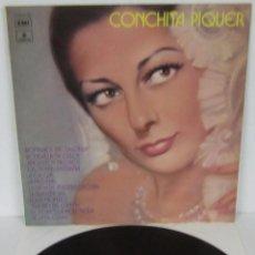 Disques de vinyle: CONCHITA PIQUER - ROMANCE DE LA OTRA - LP - ODEON 1972 SPAIN. Lote 56572537