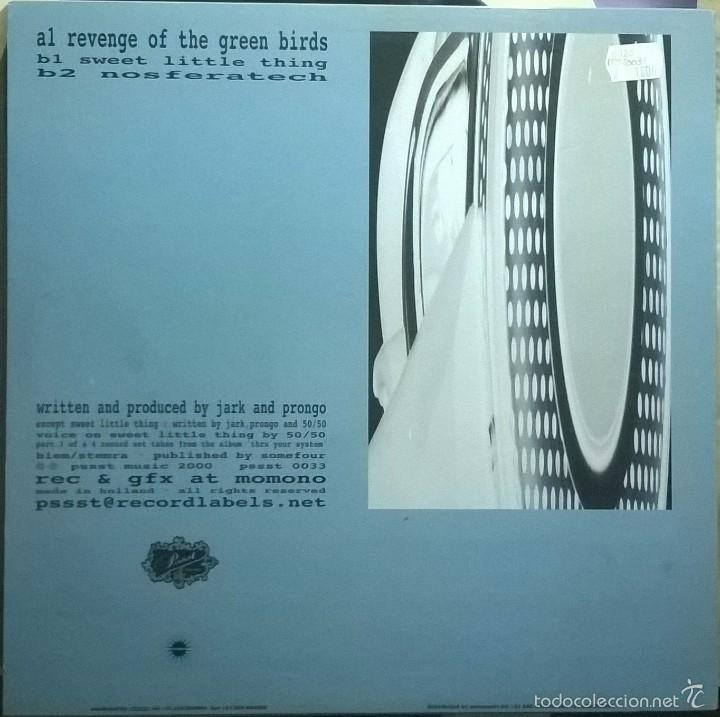 Discos de vinilo: Jark Prongo-Thru Your System (Part 3 Of 4), Pssst Music-PSSST 0033 - Foto 2 - 56574137