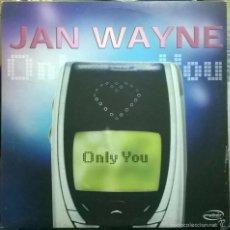 Discos de vinilo: JAN WAYNE-ONLY YOU, CYBER MUSIC-VLMX 1099-3. Lote 56574167