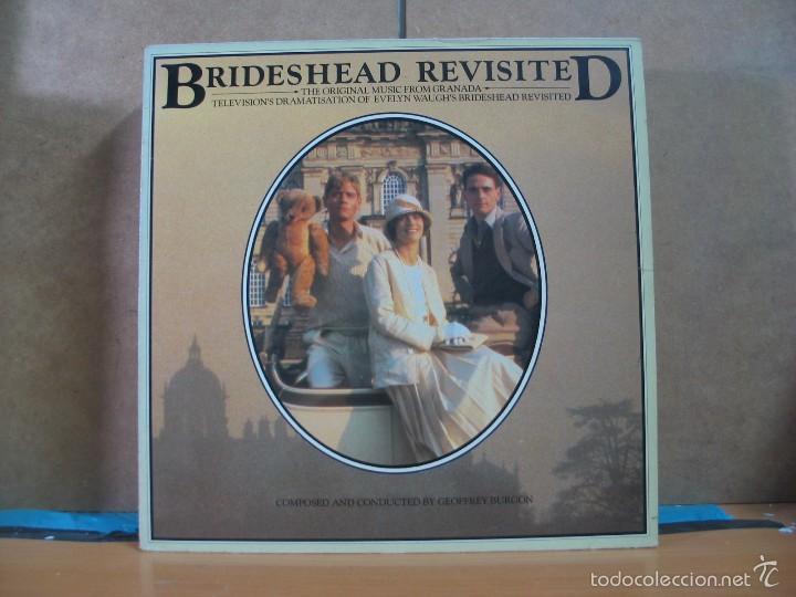 GEOFFREY BURGON - BRIDESHEAD REVISITED (RETORNO A BRIDESHEAD) - CHRYSALIS CDL 1367 - 1986 (Música - Discos - LP Vinilo - Bandas Sonoras y Música de Actores )