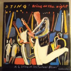 Discos de vinilo: LP VINYL - BRING ON THE NIGHT (STING) (2LP LIVE) (EX / VG+). Lote 56576035