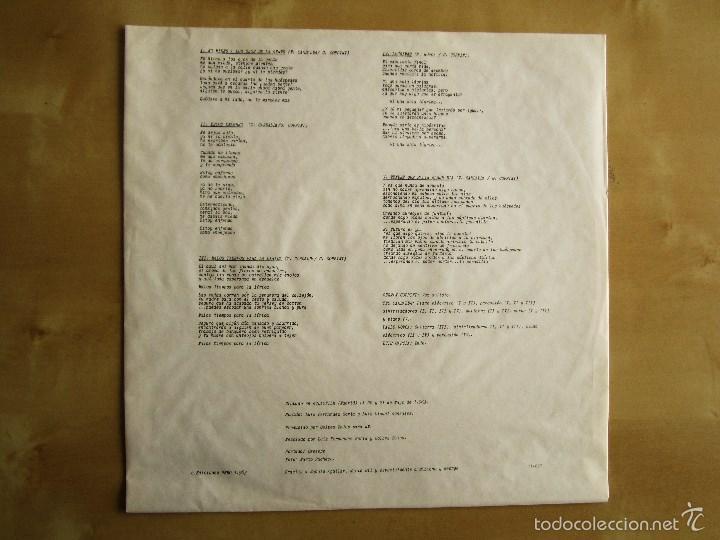 Discos de vinilo: GOLPES BAJOS -GOLPES BAJOS- MINI ALBUM DEBUT VINILO ORIGINAL NUEVOS MEDIOS 1983 EDICIONES NEMO - Foto 5 - 56578125
