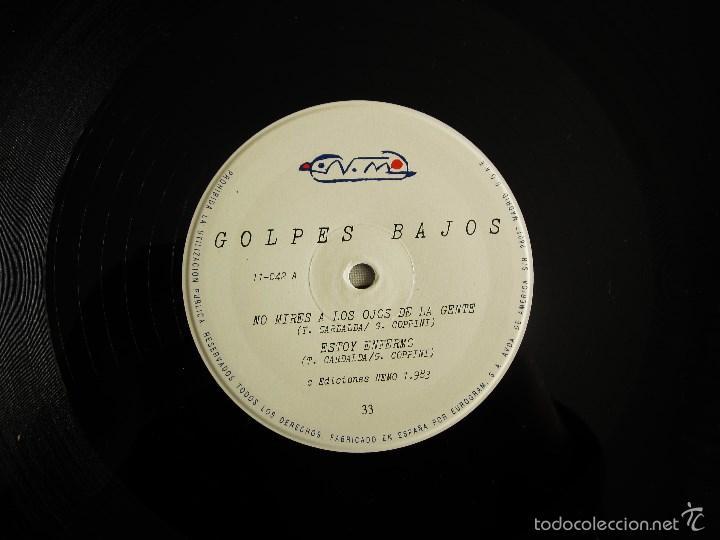 Discos de vinilo: GOLPES BAJOS -GOLPES BAJOS- MINI ALBUM DEBUT VINILO ORIGINAL NUEVOS MEDIOS 1983 EDICIONES NEMO - Foto 7 - 56578125