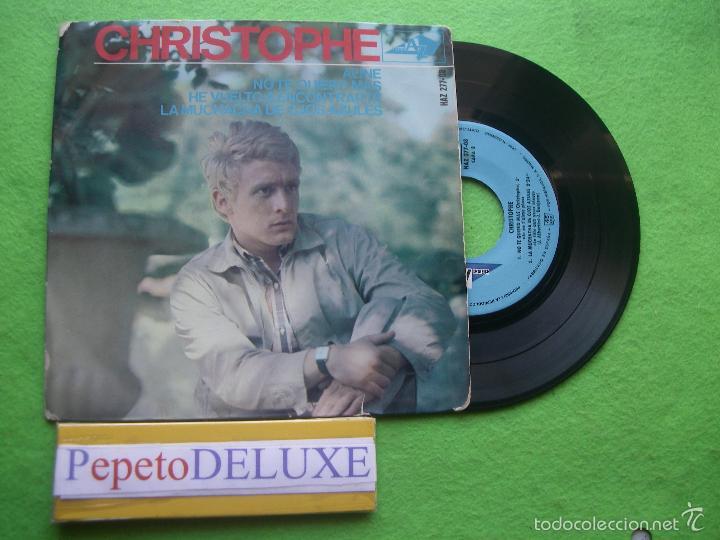 CHRISTOPHE ALINE + 3 EP SPAIN 1965 PDELUXE (Música - Discos de Vinilo - EPs - Pop - Rock Extranjero de los 50 y 60)
