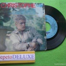 Discos de vinilo: CHRISTOPHE ALINE + 3 EP SPAIN 1965 PDELUXE. Lote 56578527