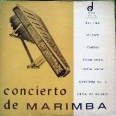Discos de vinilo: LA VOZ DE LOS ALTOS. CONCIERTO DE MARIMBA DE LA 5A ZONA. DIDECA, GUATEMALA 1973 (2 LP). Lote 56583948