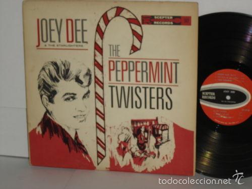 JOEY DEE & THE SATARLIGHTER - PEPPERMINT TWISTERS 1961 !! RARA 1ª EDIC ORG USA, EXC (Música - Discos - LP Vinilo - Pop - Rock Extranjero de los 50 y 60)
