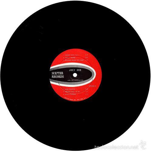 Discos de vinilo: joey dee & the satarlighter - Peppermint Twisters 1961 !! RARA 1ª EDIC ORG USA, EXC - Foto 4 - 56585872