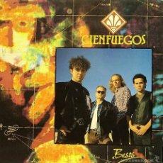 Discos de vinilo: CIENFUEGOS-BESOS LP VINILO 1990 SPAIN. Lote 56590921