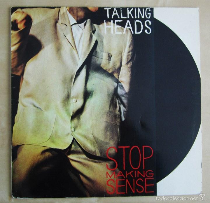 Discos de vinilo: TALKING HEADS - STOP MAKING SENSE - VINILO ORIGINAL EMI 1984 - Foto 2 - 88170475