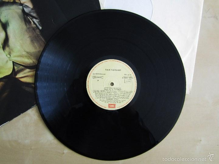 Discos de vinilo: TALKING HEADS - STOP MAKING SENSE - VINILO ORIGINAL EMI 1984 - Foto 5 - 88170475