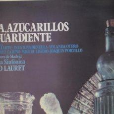 Discos de vinilo: AGUA, AZUCARILLOS Y AGUARDIENTE-COROS CANTORES DE MADRID-BENITO LAURET. Lote 56594865
