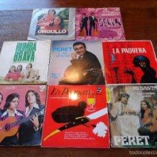 Discos de vinilo: LOTE DE 8 DISCOS DE VINILO, 4 EP Y 4 SINGLE, RUMBA Y FLAMENCO, FINAL DE LOS 60 Y PRINC. DE LOS 70. Lote 56597114