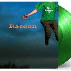 Discos de vinilo: RACOON - TILL MONKEYS FLY LTD. VINILO COLOR VERDE NUMERADO 180G LP PRECINTADO . Lote 56597823
