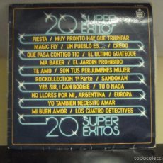 Discos de vinilo: LP VINYL - 20 SUPEREXITOS (SUPER EXITOS) (VARIOS ARTISTAS) (VG / VG). Lote 56598101