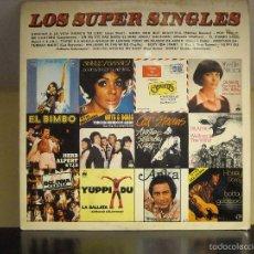 Discos de vinilo: LP VINYL - LOS SUPER SINGLES (VARIOS ARTISTAS) (VG / VG). Lote 56598282