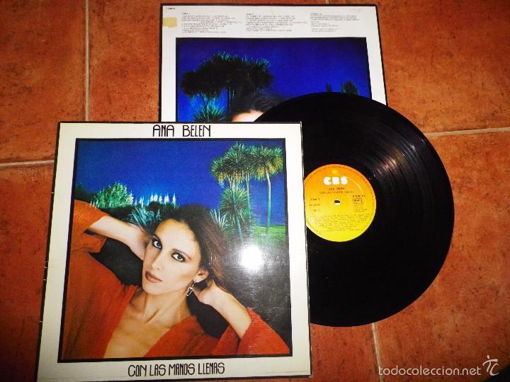 ANA BELEN CON LAS MANOS LLENAS LP VINILO CON ENCARTE DEL AÑO 1980 10 TEMAS (Música - Discos - LP Vinilo - Solistas Españoles de los 70 a la actualidad)