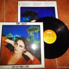 Discos de vinilo: ANA BELEN CON LAS MANOS LLENAS LP VINILO CON ENCARTE DEL AÑO 1980 10 TEMAS. Lote 56599410