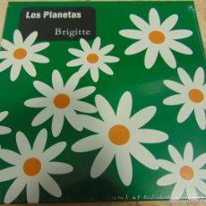 Discos de vinilo: LOS PLANETAS - BRIGITTE - SINGLE. Lote 56603911