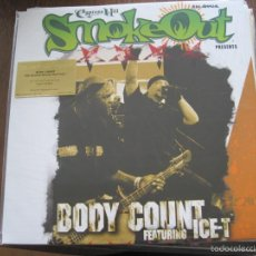 Discos de vinilo: BODY COUNT FEAT ICE-T - SMOKE OUT LIVE (2005) - LP REEDICIÓN MUSIC ON VINYL 2015 NUEVO. Lote 56610378