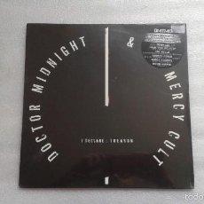 Discos de vinilo: DOCTOR MIDNIGHT & THE MERCY CULT - I DE CLARE TREASON LP 2011 NUEVO PRECINTADO TURBONEGRO. Lote 56615264