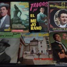 Discos de vinilo: LOTE DE 75 DISCOS DE VINILO FLAMENCO, COPLA, RUMBA, CANTE, SAETA, ETC.. Lote 56616334