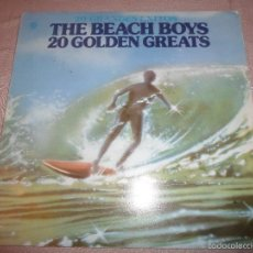 Discos de vinilo: THE BEACH BOYS - 20 GOLDEN GREATS. Lote 123117364