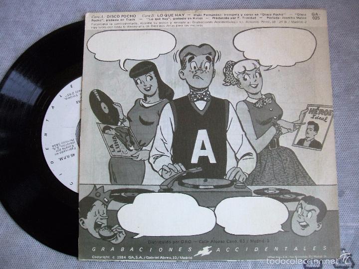 Discos de vinilo: DERRIBOS ARIAS : Disco Pocho - Foto 4 - 36981537