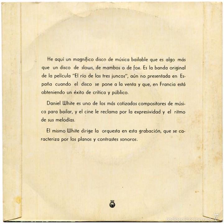 Discos de vinilo: Daniel White + Michel Ramos - El Río De Los Tres Juncos - Ep Spain - Telefunken TFK 22086 - Foto 2 - 56617683