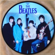 THE BEATLES: TICKET TO RIDE + YES IT IS, PICTURE DISC
