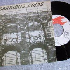 Discos de vinilo: DERRIBOS ARIAS : DISCO POCHO. Lote 36981537