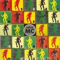 Discos de vinilo: REBEL MC ?– REBEL MUSIC . Lote 56621451