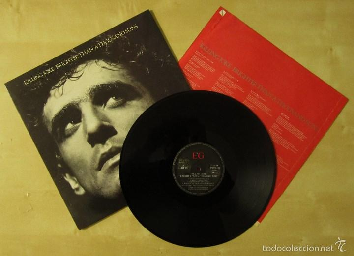 KILLING JOKE - BRIGHTER THAN A THOUSAND SUNS - VINILO ORIGINAL VIRGIN E.G MUSIC 1986 PRIMERA EDICION (Música - Discos - LP Vinilo - Pop - Rock - New Wave Extranjero de los 80)