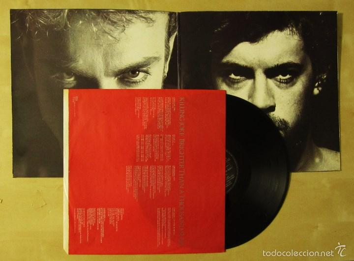 Discos de vinilo: KILLING JOKE - BRIGHTER THAN A THOUSAND SUNS - VINILO ORIGINAL VIRGIN E.G MUSIC 1986 PRIMERA EDICION - Foto 2 - 56622662