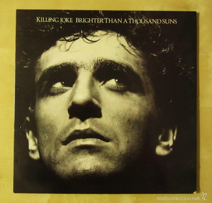 Discos de vinilo: KILLING JOKE - BRIGHTER THAN A THOUSAND SUNS - VINILO ORIGINAL VIRGIN E.G MUSIC 1986 PRIMERA EDICION - Foto 4 - 56622662