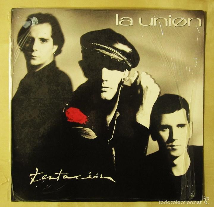 Discos de vinilo: LA UNION - TENTACION - VINILO ORIGINAL PRIMERA EDICION WEA 1990 - Foto 2 - 56622787