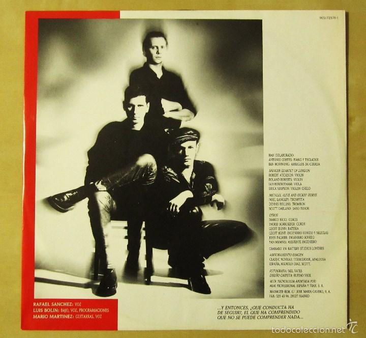 Discos de vinilo: LA UNION - TENTACION - VINILO ORIGINAL PRIMERA EDICION WEA 1990 - Foto 5 - 56622787