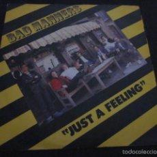 BAD MANNERS - JUST A FEELING - SN - SKA - EDICION INGLESA DEL AÑO 1981.