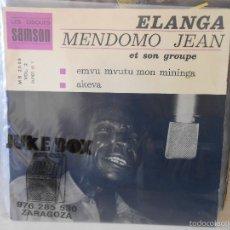 Discos de vinilo: ELANGA MENDOMO JEAN ET SON GROUPE. Lote 56629665