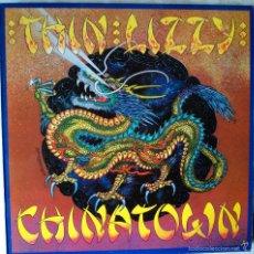 Discos de vinilo: THIN LIZZY - CHINA TOWN - EDICIÓN DE 1985 DE ESPAÑA. Lote 56629697