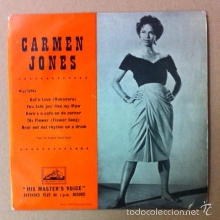 CARMEN JONES (Música - Discos de Vinilo - EPs - Otros estilos)