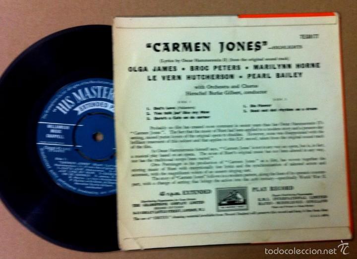 Discos de vinilo: CARMEN JONES - Foto 2 - 56632071