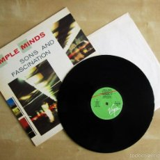 Discos de vinilo: SIMPLE MINDS - SONS AND FASCINATION - VINILO ORIGINAL PRIMERA EDICION VIRGIN 1981. Lote 56632753