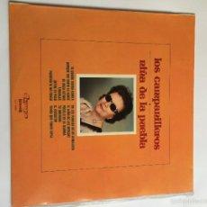 Discos de vinilo: LA NIÑA DE LA PUEBLA-LOS CAMPANILLEROS. Lote 56640515