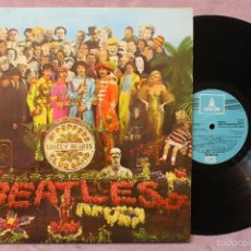 Discos de vinilo: THE BEATLES SGT PEPPERS LONELY HEARTS CLUB BAND LP VINYL MADE IN SPAIN 1967. Lote 56641630